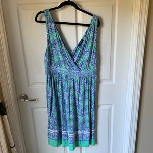Gently worn Floral Sun Dress Old Navy